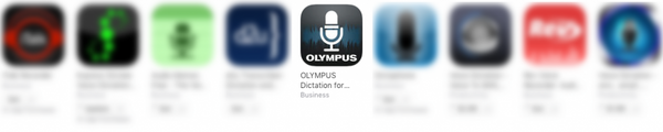 Best mobile dictation app smartphone iOS android Olympus