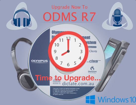 Olympus ODMS R6 EOL End-Of-Life Upgrade Now