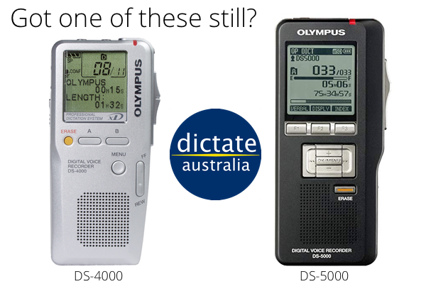 Upgrade from Olympus DS-4000 or DS-5000 and get cash back Australia