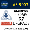 AS-9003 ODMS R7 Dictation Module Upgrade from ODMS R6 or R5