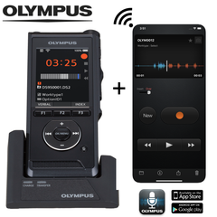 Dictate Anywhere Bundle - Olympus DS-9000 + Olympus Dictation App