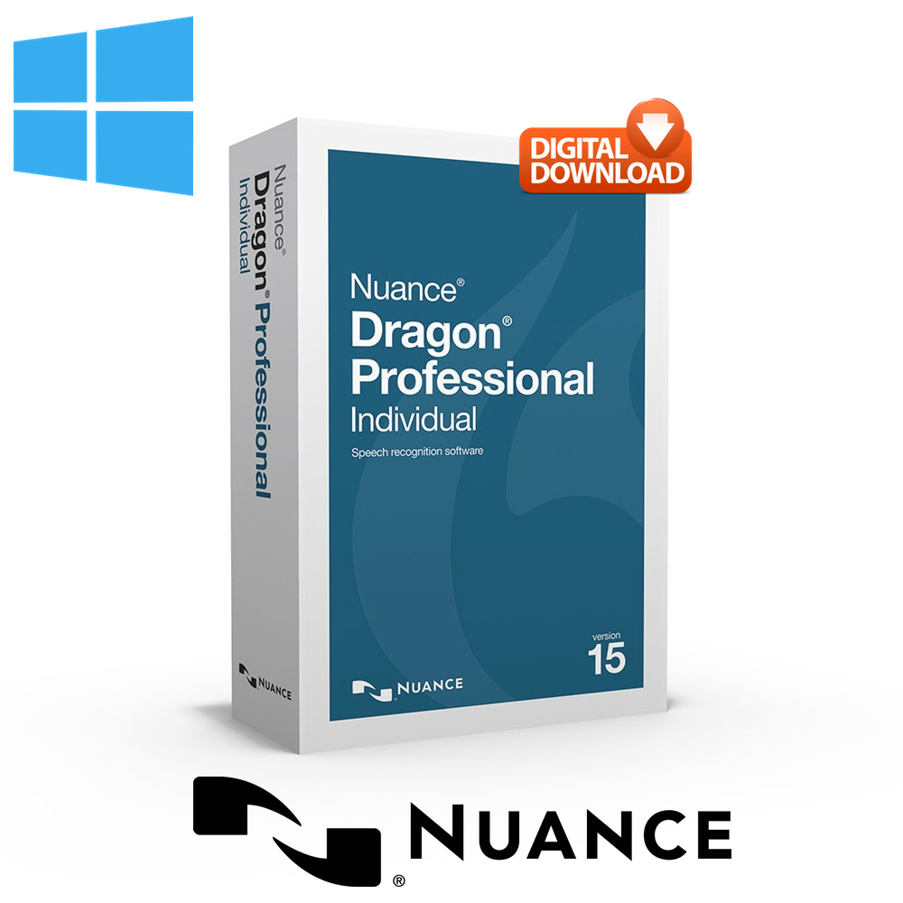 Dragon Professional Individual 15 for Windows - Download Now