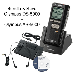 Olympus PRO Dictation / Transcription Bundle