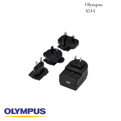Olympus A514 - 5V AC Adapter with USB-A Connector