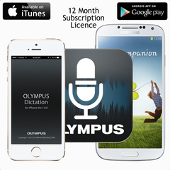 Olympus ODDS Dictation App Licence - iPhone or Android