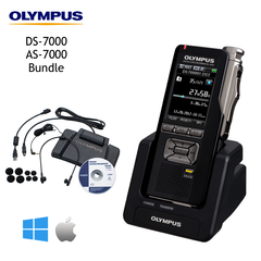 Olympus Pro Dictation + Transcription DS/AS-7000 Bundle