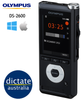 Olympus DS-2600 Digital Dictaphone for Windows & macOS