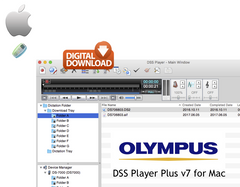 Olympus DSS Player Plus v7 for Mac - Digital Download