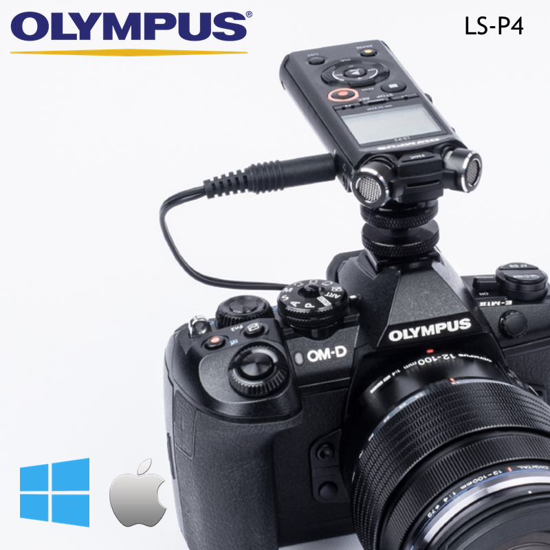 Olympus LS-P4 Digital Sound & Music PCM FLAC MP3 Recorder 8Gb
