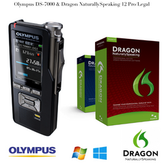 Pro Dragon Bundle - Olympus DS-7000 & NaturallySpeaking 12
