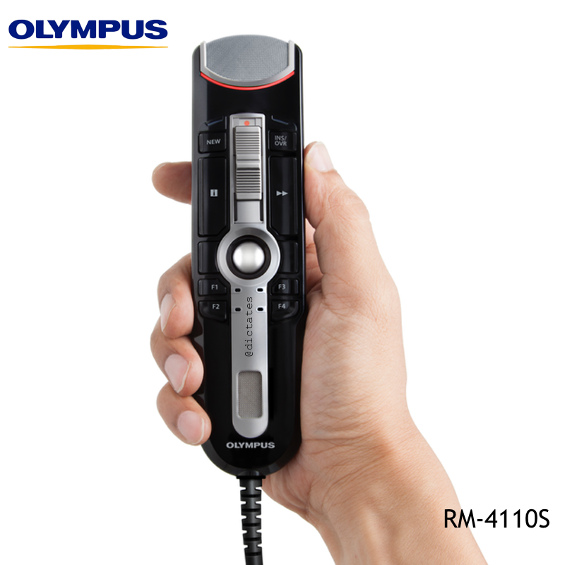 Olympus RM-4110S Hand Held Dictation & Dragon Voice