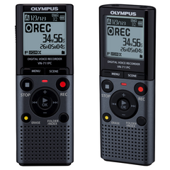Olympus VN-711PC - 2Gb Digital Voice Recorder