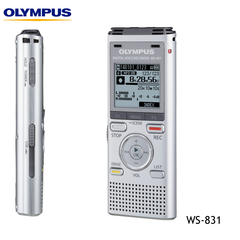 Olympus WS-831 Digital Notetaker Voice Recorder - 2Gb