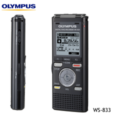 Olympus WS-833 Digital Notetaker Voice Recorder - 8Gb