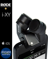 Rode i-XY Stereo Mic for iOS iPhone & iPad via Lightning