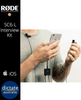 Rode SC6-L Professional Mobile iOS Interview Kit