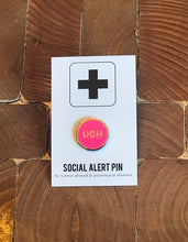 Load image into Gallery viewer, Enamel Pin - Ugh - Neon Pink or Neon Blue