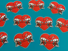 Load image into Gallery viewer, Die Cut Sticker - Love AT-AT First Sight - Red