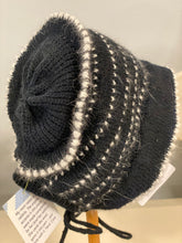 Load image into Gallery viewer, Baby Bonnet - Black