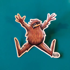 Sticker - Sasquatch Jumping for Joy