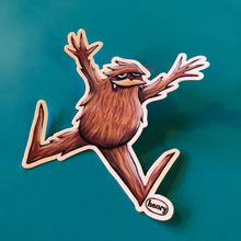 Load image into Gallery viewer, Sticker - Sasquatch Jumping for Joy