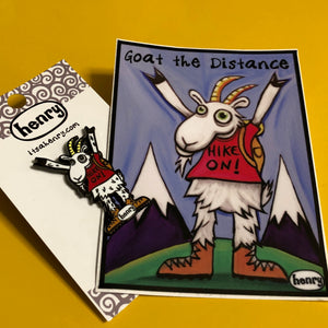Sticker - Goat the Distance