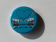 Load image into Gallery viewer, Magnet - 1.25 Inch: Love AT-AT First Sight - Blue