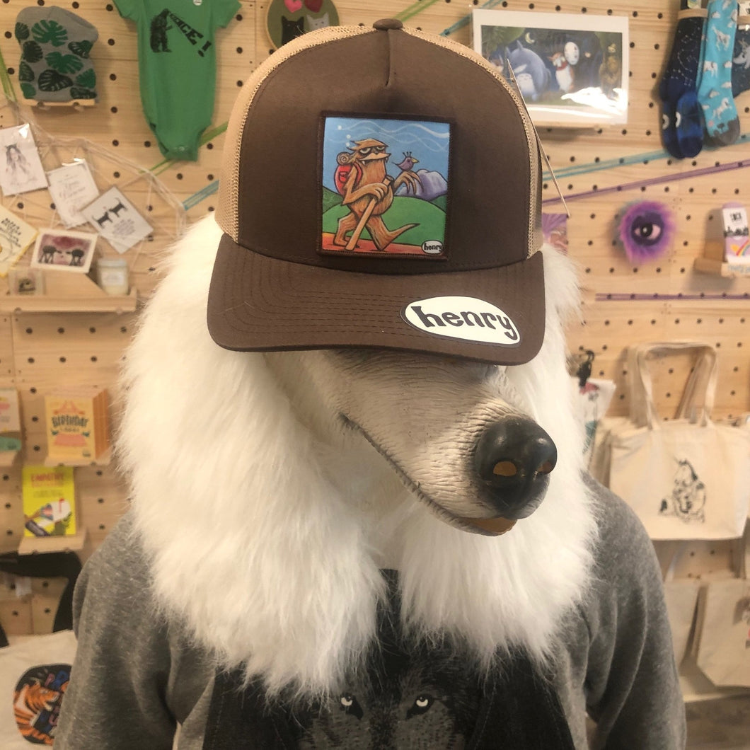 Hat - Trucker - Sasquatch Hiking