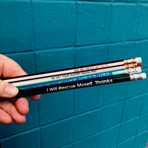 Pencil Three Pack:  Go Get Your Almost Equal Pay