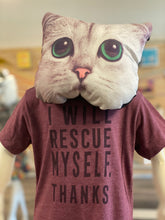 Load image into Gallery viewer, Toddler Shirt - I Will Rescue Myself, Thanks - Unisex Crew