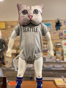 Onesie: This Says SEATTLE On It - Gray