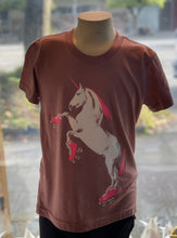 Load image into Gallery viewer, Youth Shirt: Roller Skating Unicorn