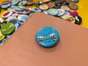 "1.25"" Button -  Love AT-AT First Sight (Three Pack)"