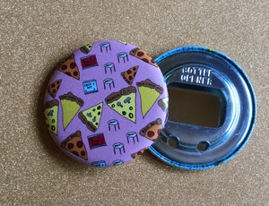 Bottle Opener Keychain - Pattern Pizza Party