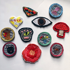 Make Your Own Hand Embroidered Patch Workshop