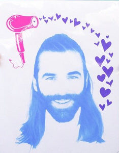 Small Hand Pulled Screenprint - Jonathan Van Ness
