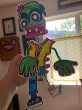 Load image into Gallery viewer, Paper Craft Kit: Wacky Weirdos