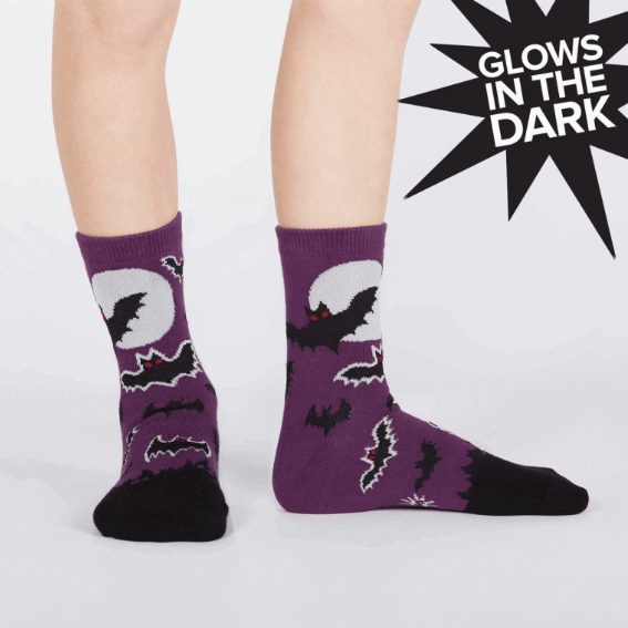 Sock - Youth Crew: Batnado - Glow in the Dark