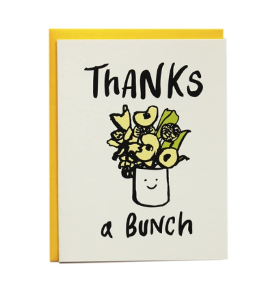 Card - Thanks A Bunch