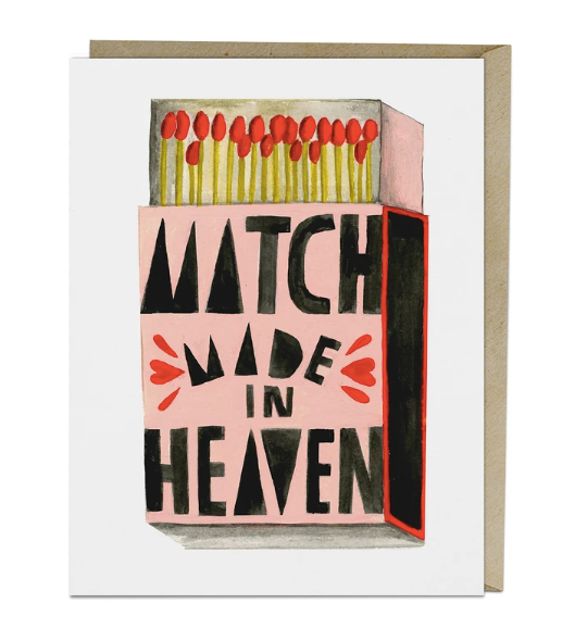 Card - Lisa Congdon Match Made in Heaven