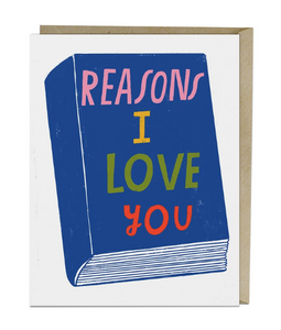 Card - Lisa Congdon Reasons I Love You
