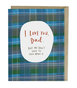 Card - Love You Dad Father's Day