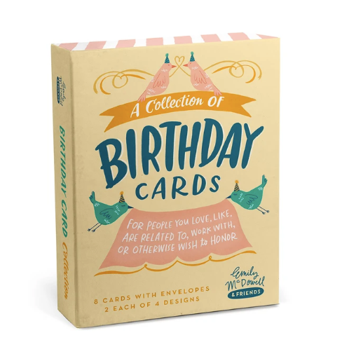 Card Box - Birthday
