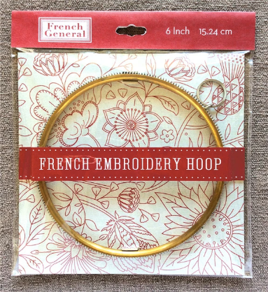 Craft Supply - Metal Embroidery Hoop - 6 Inch