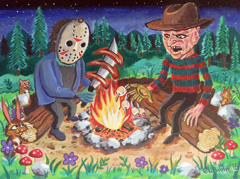 Print - Creepy Cookout