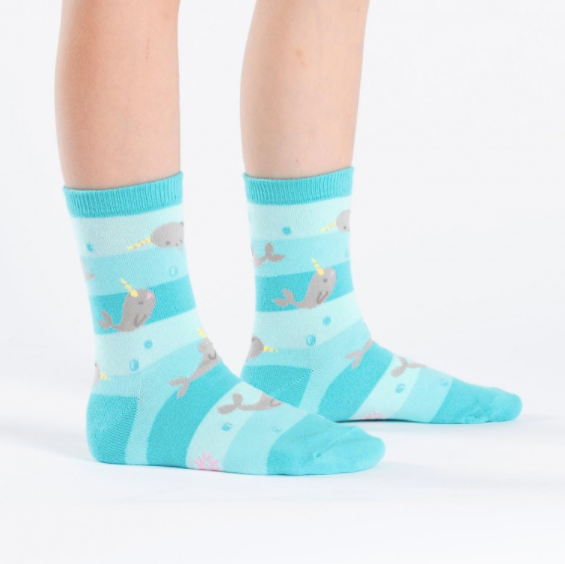 Sock - Junior Crew: Unicorn of the Sea
