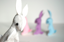 Load image into Gallery viewer, DIY - Rainbow Stuffed Bunny Sewing Kit