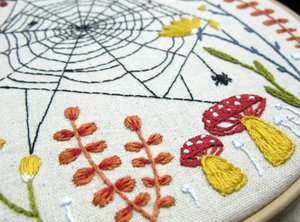 DIY - Embroidery Kit - Woven