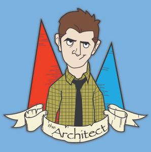 Enamel Pin - The Architect - Ben - Parks and Recreation