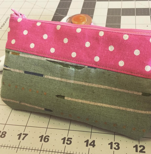Adult Sewing Basics: Zipper Pouch